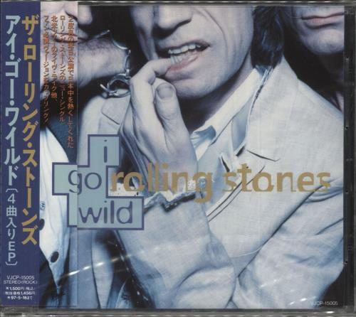 "Rolling Stones I Go Wild - Sealed CD single (CD5 / 5"") Japanese ROLC5IG715174"