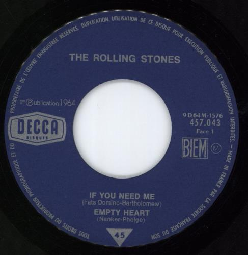 """Rolling Stones If You Need Me E.P. 7"""" vinyl single (7 inch record) French ROL07IF61921"""