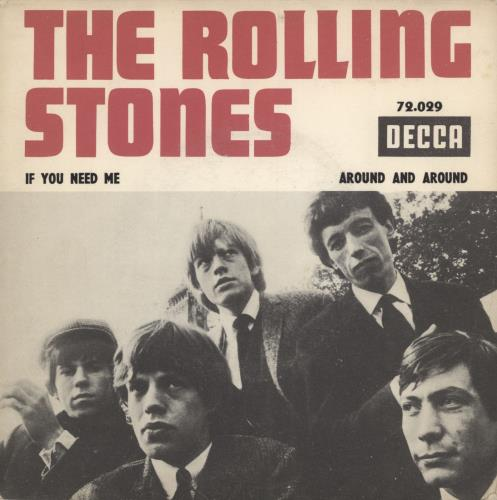 """Rolling Stones If You Need Me 7"""" vinyl single (7 inch record) French ROL07IF777105"""