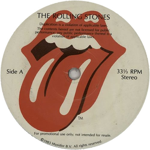 """Rolling Stones Interview EP 7"""" vinyl single (7 inch record) US ROL07IN638219"""