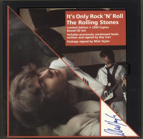 Rolling Stones It's Only Rock 'N' Roll - Autographed CD Album Box Set Austrian ROLDXIT630083