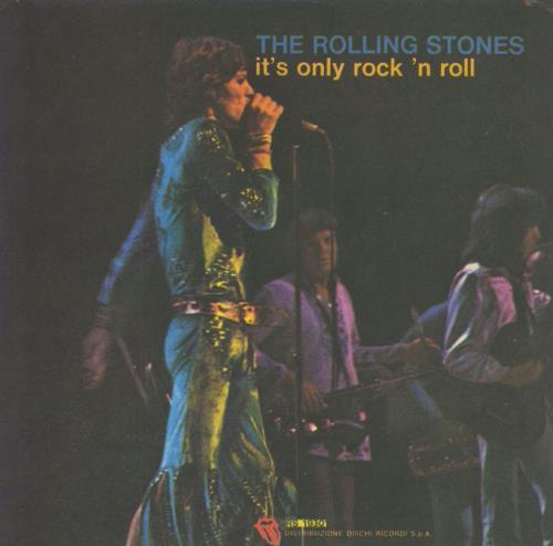 Rolling Stones It's Only Rock 'N Roll Italian 7