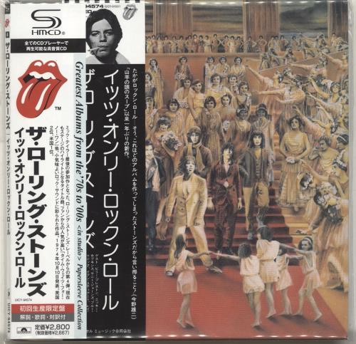 Rolling Stones It's Only Rock 'N' Roll SHM CD Japanese ROLHMIT691062