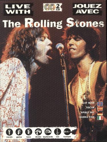 Rolling Stones Jouez Avec The Rolling Stones book French ROLBKJO708714