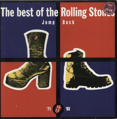 Rolling Stones Jump Back 2-LP vinyl record set (Double Album) UK ROL2LJU30529