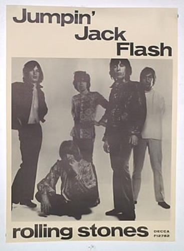 Rolling Stones Jumpin Jack Flash Repro Uk Poster 139933