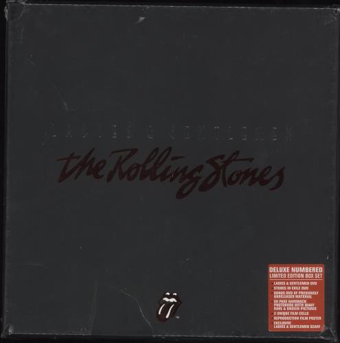 Rolling Stones Ladies & Gentleman - Sealed box set UK ROLBXLA731931