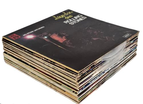 Rolling Stones L'age D'or Des Rolling Stones - Complete 19 Album Set Vinyl Box Set French ROLVXLA775404