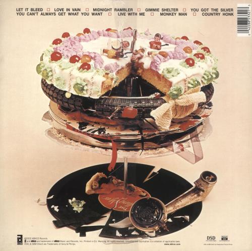 Rolling Stones Let It Bleed - 180gm Vinyl - Sealed vinyl LP album (LP record) UK ROLLPLE732801