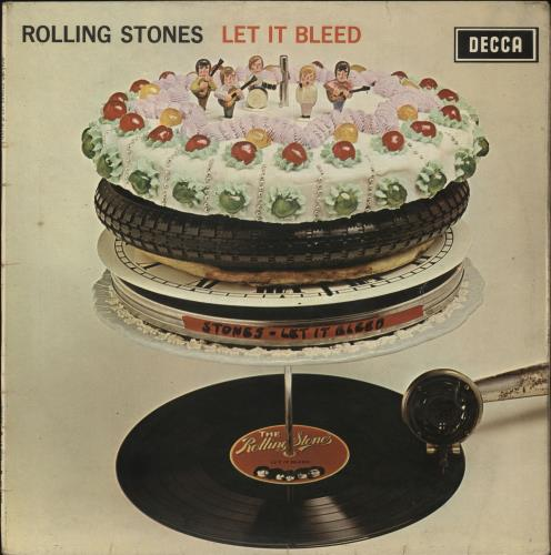 Rolling Stones Let It Bleed - Boxed + Poster - VG vinyl LP album (LP record) UK ROLLPLE708177