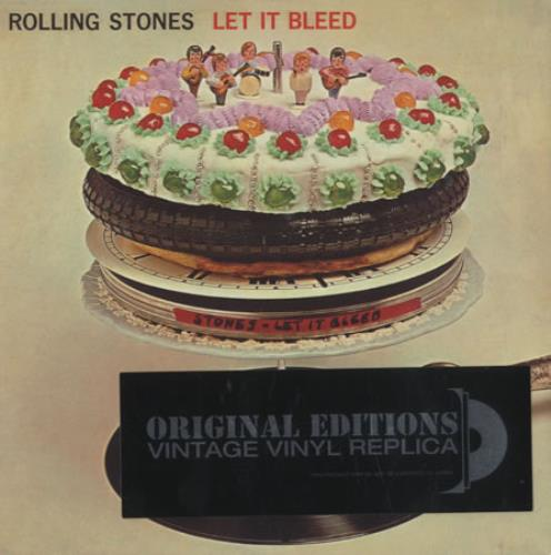 Rolling Stones Let It Bleed CD album (CDLP) French ROLCDLE419226
