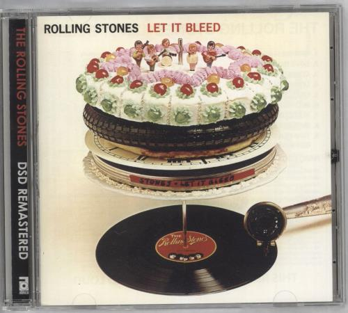 Rolling Stones Let It Bleed super audio CD SACD Japanese ROLSALE730185