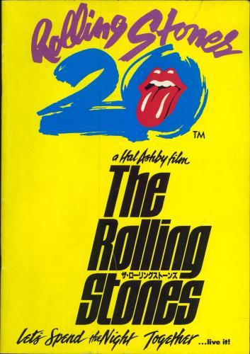 Rolling Stones Let's Spend The Night Together tour programme Japanese ROLTRLE138117