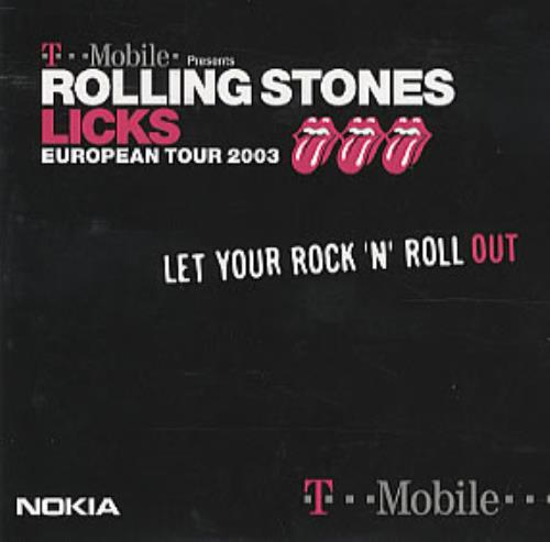 Rolling Stones Licks - European Tour 2003 CD-ROM UK ROLROLI308430