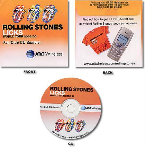 Rolling Stones Licks World Tour 2002/03 CD-ROM US ROLROLI236520