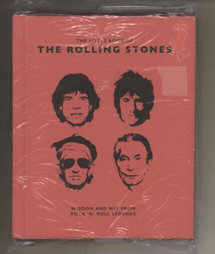 Rolling Stones Little Book of the Rolling Stones book UK ROLBKLI736167