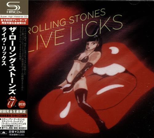 Rolling Stones Live Licks SHM CD Japanese ROLHMLI485258