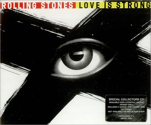 Rolling Stones Love Is Strong 2-CD single set (Double CD single) UK ROL2SLO445458