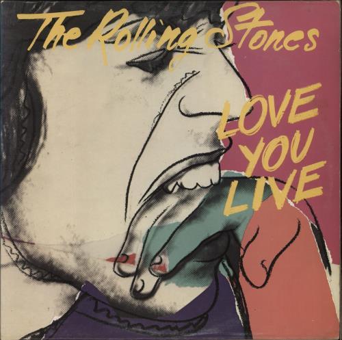 Rolling Stones Love You Live - 1st - VG 2-LP vinyl record set (Double Album) UK ROL2LLO714677