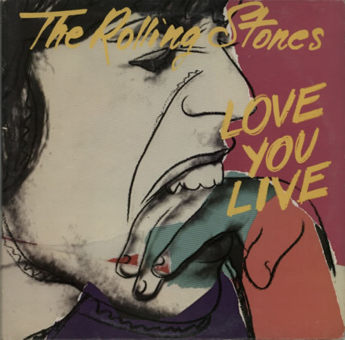Rolling Stones Love You Live - 1st 2-LP vinyl record set (Double Album) UK ROL2LLO81029