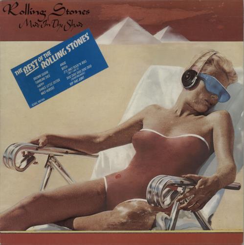 Rolling Stones Made In The Shade - Stickered P/S - EX vinyl LP album (LP record) UK ROLLPMA650604