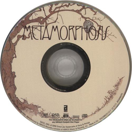Rolling Stones Metamorphosis CD album (CDLP) UK ROLCDME237236