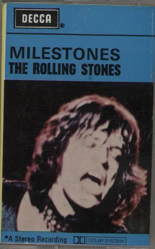 Rolling Stones Milestones cassette album UK ROLCLMI759021