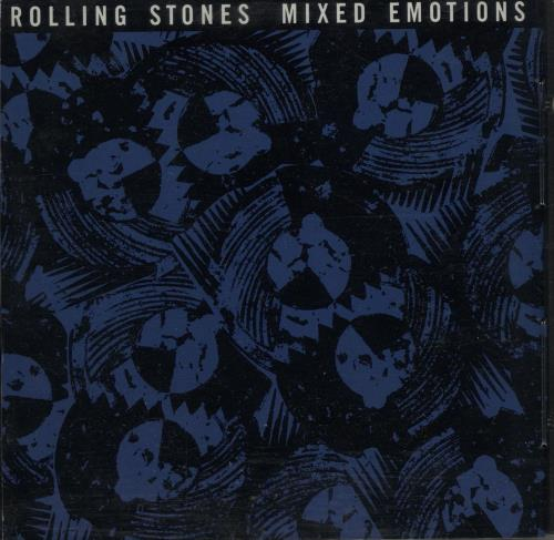 "Rolling Stones Mixed Emotions CD single (CD5 / 5"") US ROLC5MI71458"