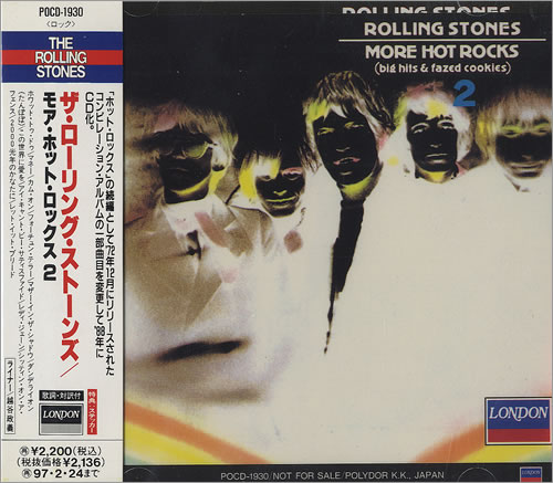Rolling Stones More Hot Rocks Big Hits Amp Fazed Cookies 2