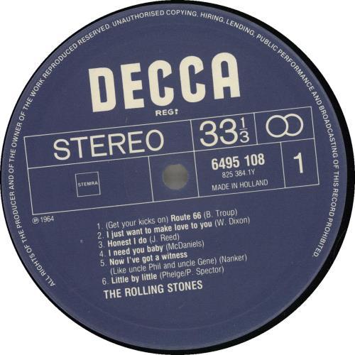Rolling Stones Music For The Millions - EX vinyl LP album (LP record) Dutch ROLLPMU702510