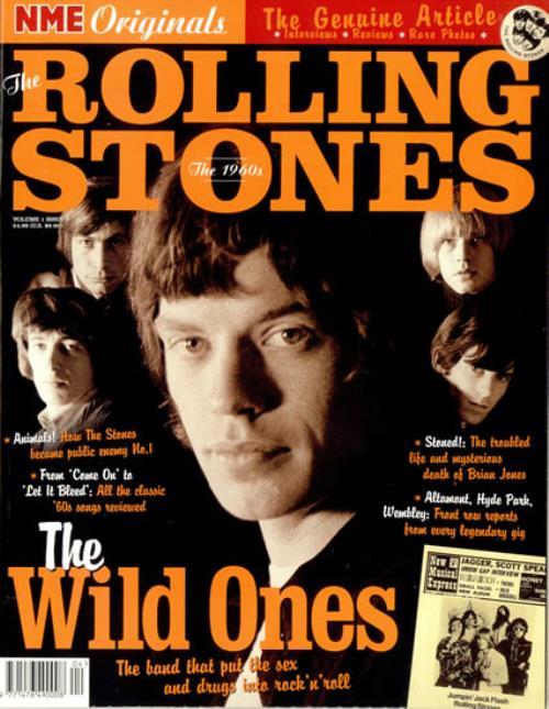 Rolling Stones NME Originals The Rolling Stones magazine UK ROLMANM486007