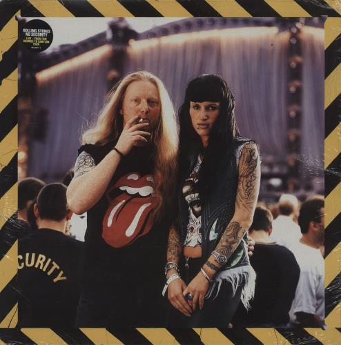 Rolling Stones No Security - Sealed 2-LP vinyl record set (Double Album) UK ROL2LNO760540