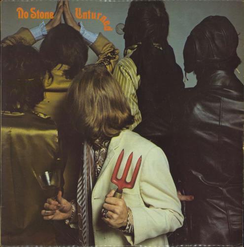 Rolling Stones No Stone Unturned - VG vinyl LP album (LP record) UK ROLLPNO628892