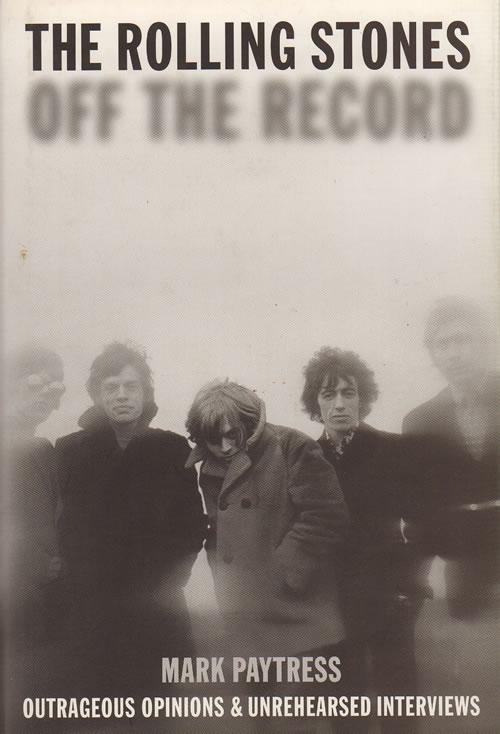 Rolling Stones Off The Record book UK ROLBKOF642656
