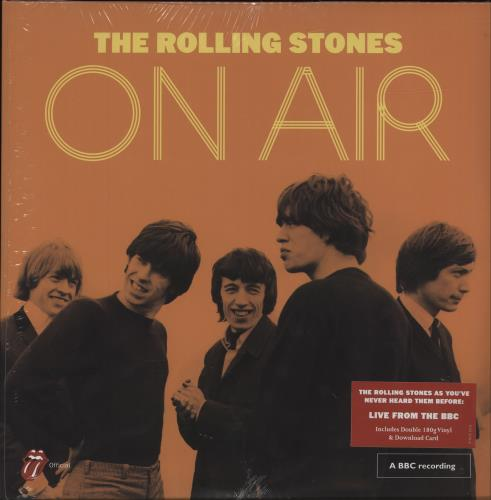 Rolling Stones On Air 180gm Sealed Uk 2 Lp Vinyl