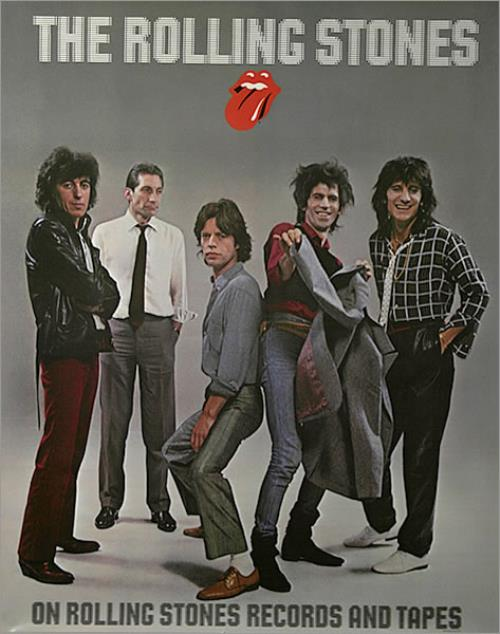 Rolling Stones On Rolling Stones Records And Tape Us Promo