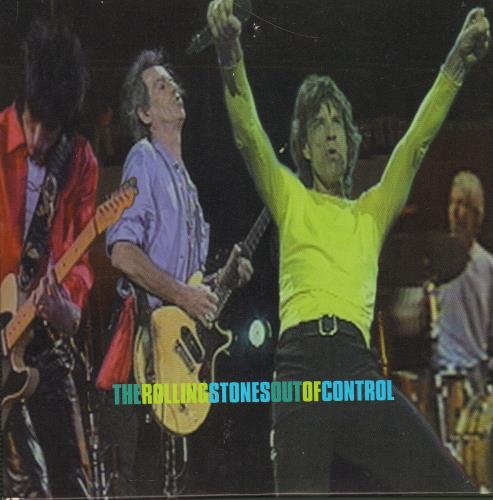 """Rolling Stones Out Of Control - 4-track Promo CD single (CD5 / 5"""") UK ROLC5OU121739"""