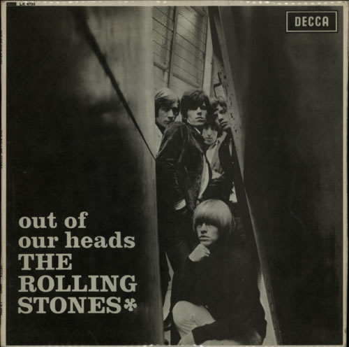 Rolling Stones Out Of Our Heads - 1st - VG vinyl LP album (LP record) UK ROLLPOU591523