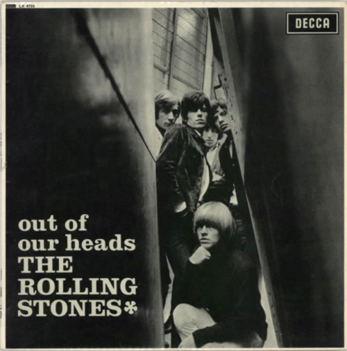 Rolling Stones Out Of Our Heads - 2nd - VG vinyl LP album (LP record) UK ROLLPOU590980