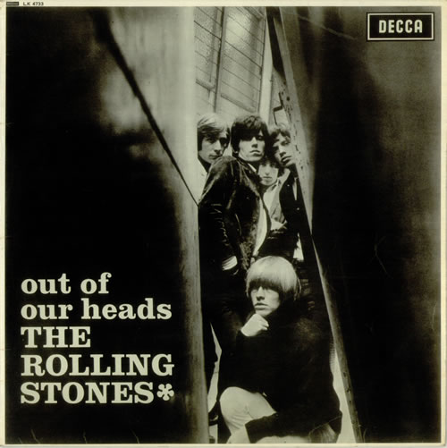 Rolling Stones Out Of Our Heads - 3rd - VG vinyl LP album (LP record) UK ROLLPOU542285