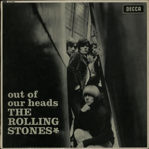 Rolling Stones Out Of Our Heads - 4th - VG vinyl LP album (LP record) UK ROLLPOU618006