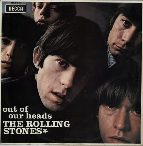 Rolling Stones Out Of Our Heads - VG vinyl LP album (LP record) French ROLLPOU234851