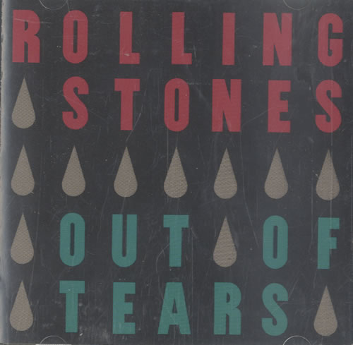 "Rolling Stones Out Of Tears CD single (CD5 / 5"") US ROLC5OU495854"