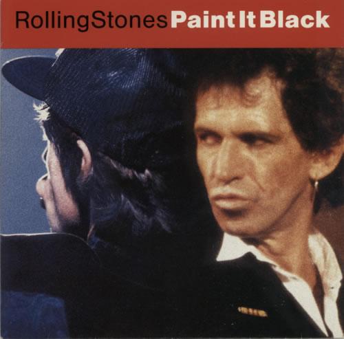 "Rolling Stones Paint It Black 7"" vinyl single (7 inch record) Dutch ROL07PA100291"