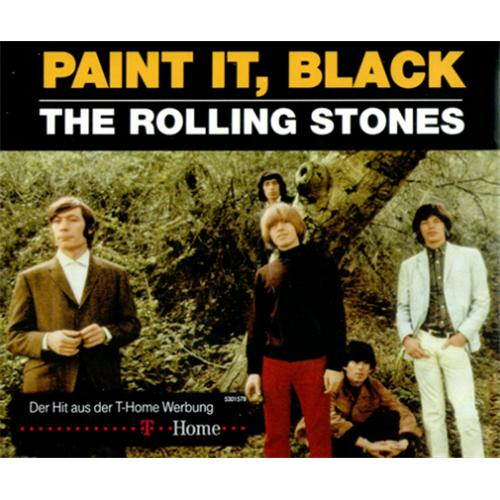 Rolling Stones Paint It Black German Cd Single Cd5 5