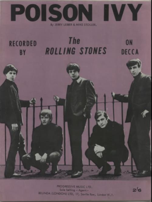 Image result for the rolling stones poison ivy images