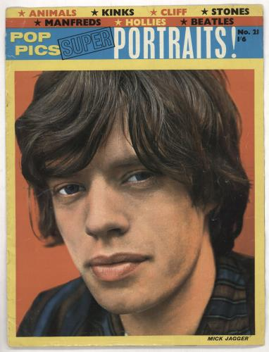 Rolling Stones Pop Pics Super Portraits No.21 magazine UK ROLMAPO739183