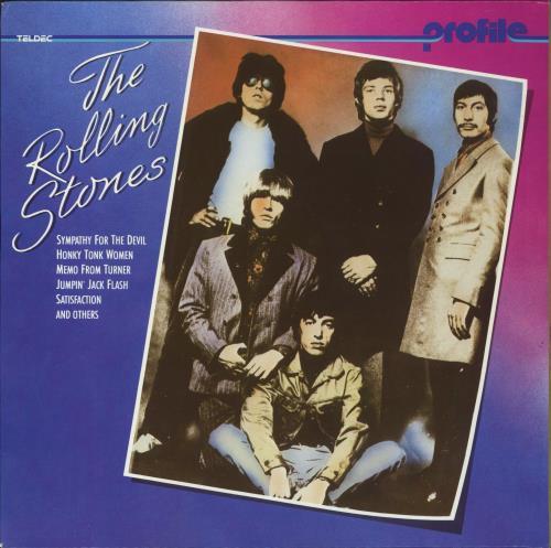 Rolling Stones Profile German Vinyl Lp Album Lp Record