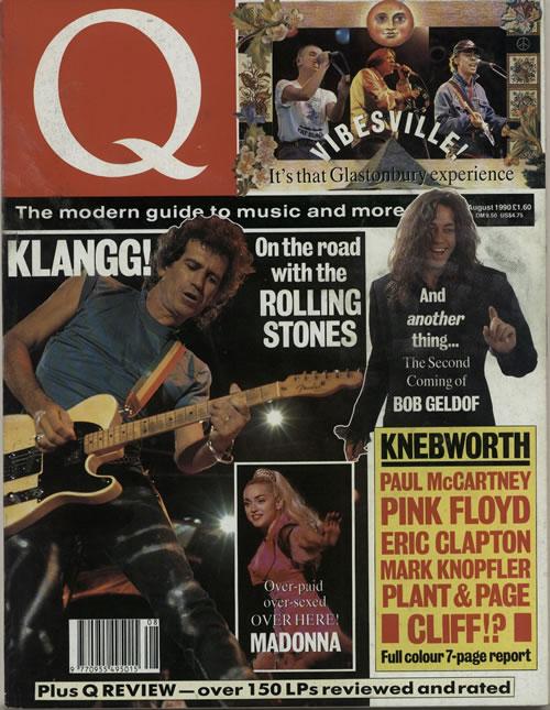 Rolling Stones Q - August 1990 magazine UK ROLMAQA642671