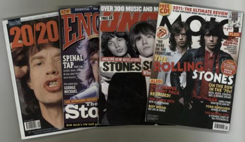 Rolling Stones Quantity of 5 Magazines magazine UK ROLMAQU617660
